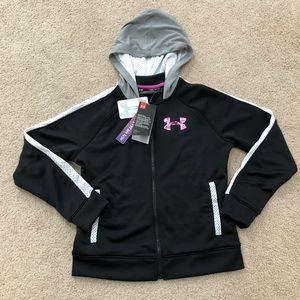 Girls youth medium under armour hoodie